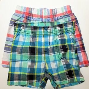 Carter's new Boys Toddler Shorts. 24 months